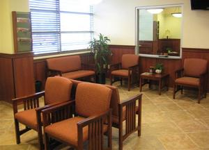 The Waiting Area at Duneland Nephrology in Chesterton