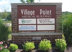 The Duneland Nephrology sign in Chesterton, IN